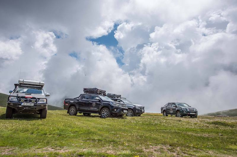 offroad expedition on Carpathian mauntain 4Venture adventure