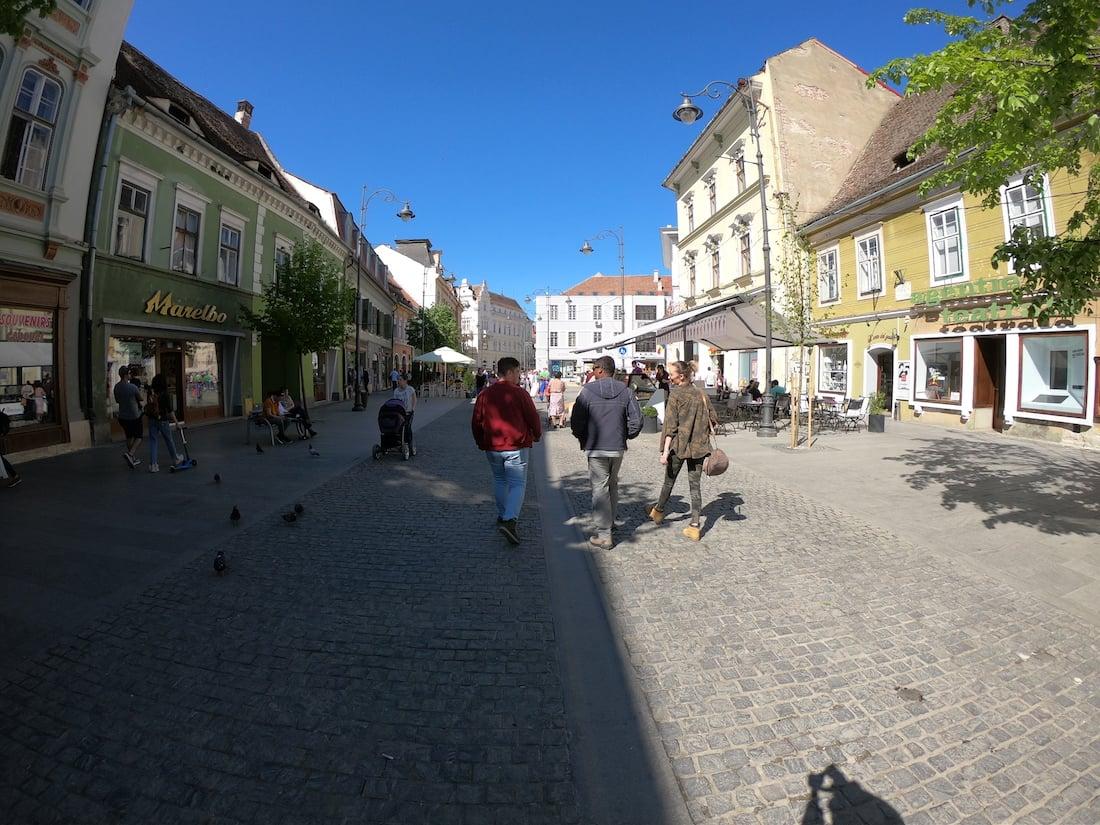 Sibiu, Central square.JPG